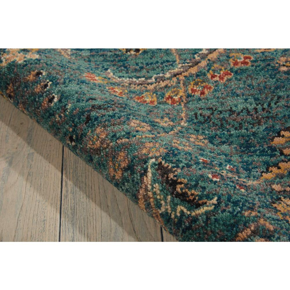 Nourison 2020 Area Rug, Teal, 4' x 6'. Picture 6