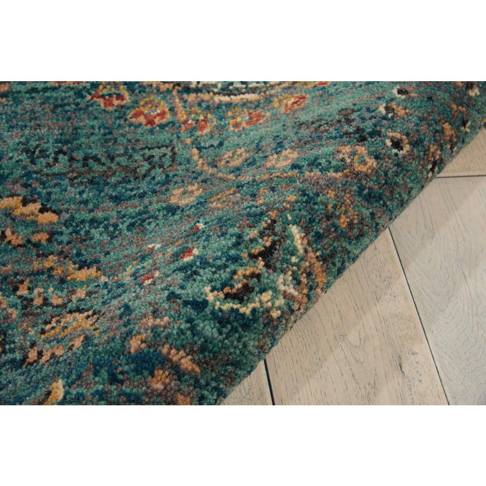 Nourison 2020 Area Rug, Teal, 4' x 6'. Picture 7