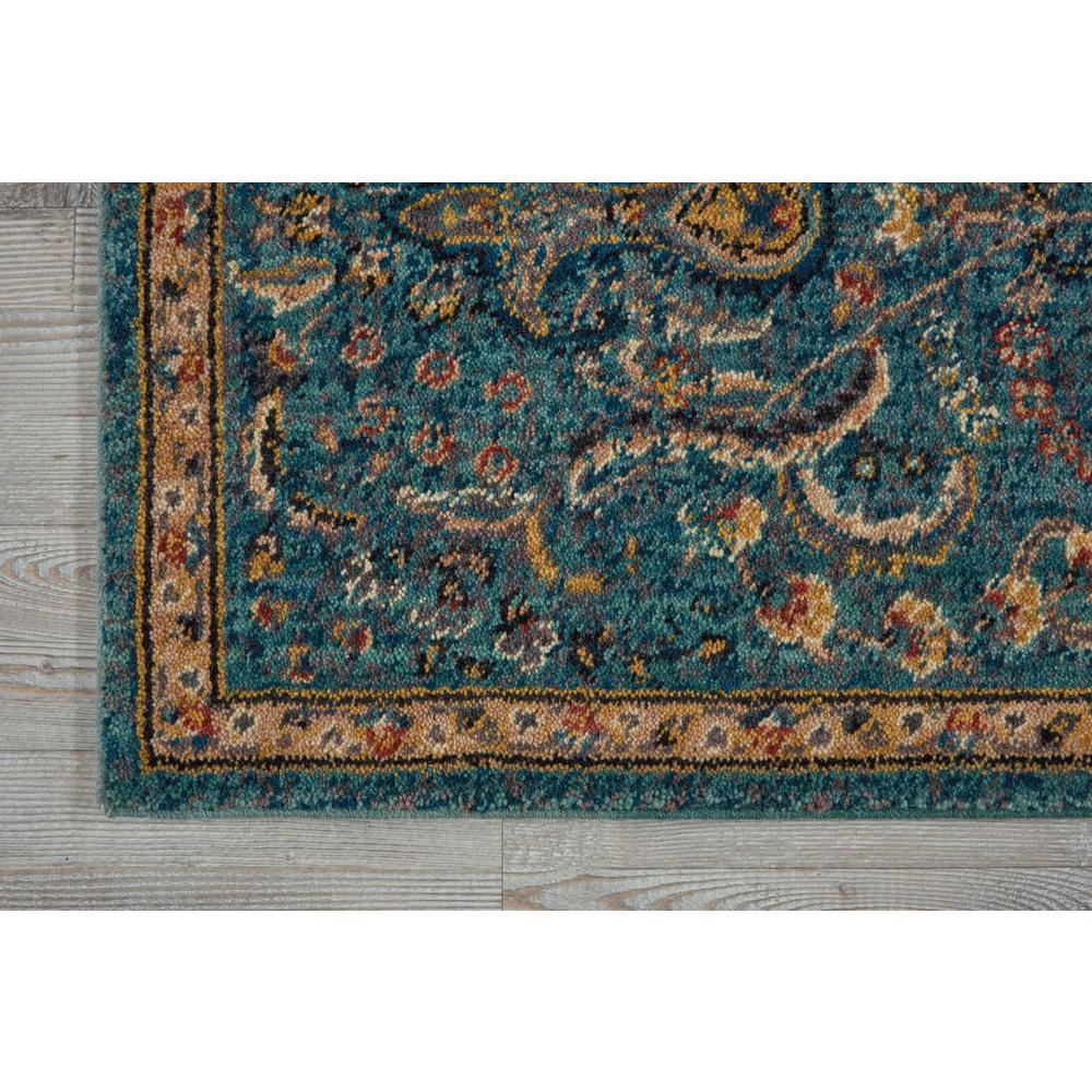 """Nourison 2020 Area Rug, Teal, 2'3"""" x 11'. Picture 3"""