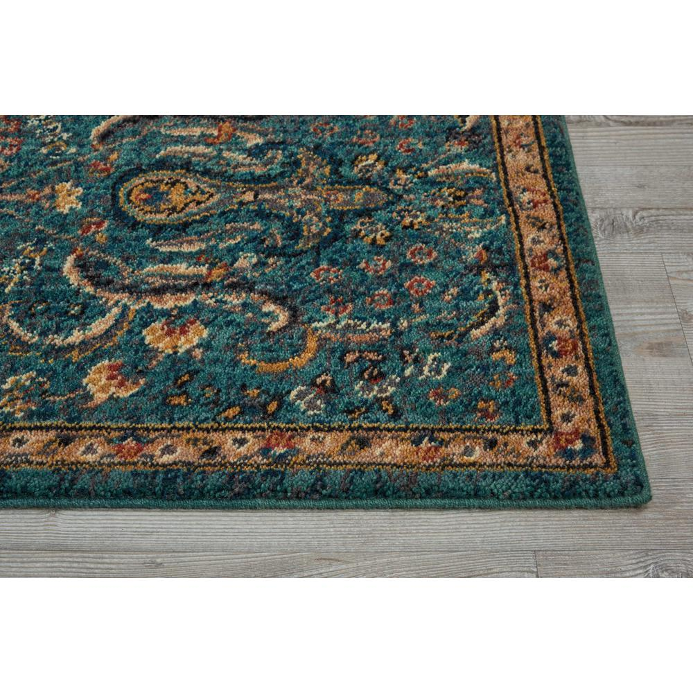"""Nourison 2020 Area Rug, Teal, 2'3"""" x 11'. Picture 4"""