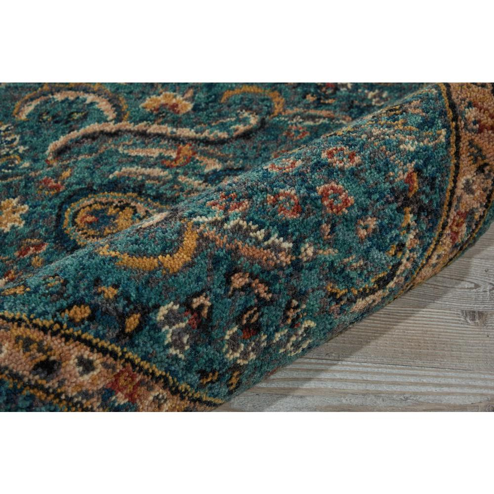 """Nourison 2020 Area Rug, Teal, 2'3"""" x 11'. Picture 5"""
