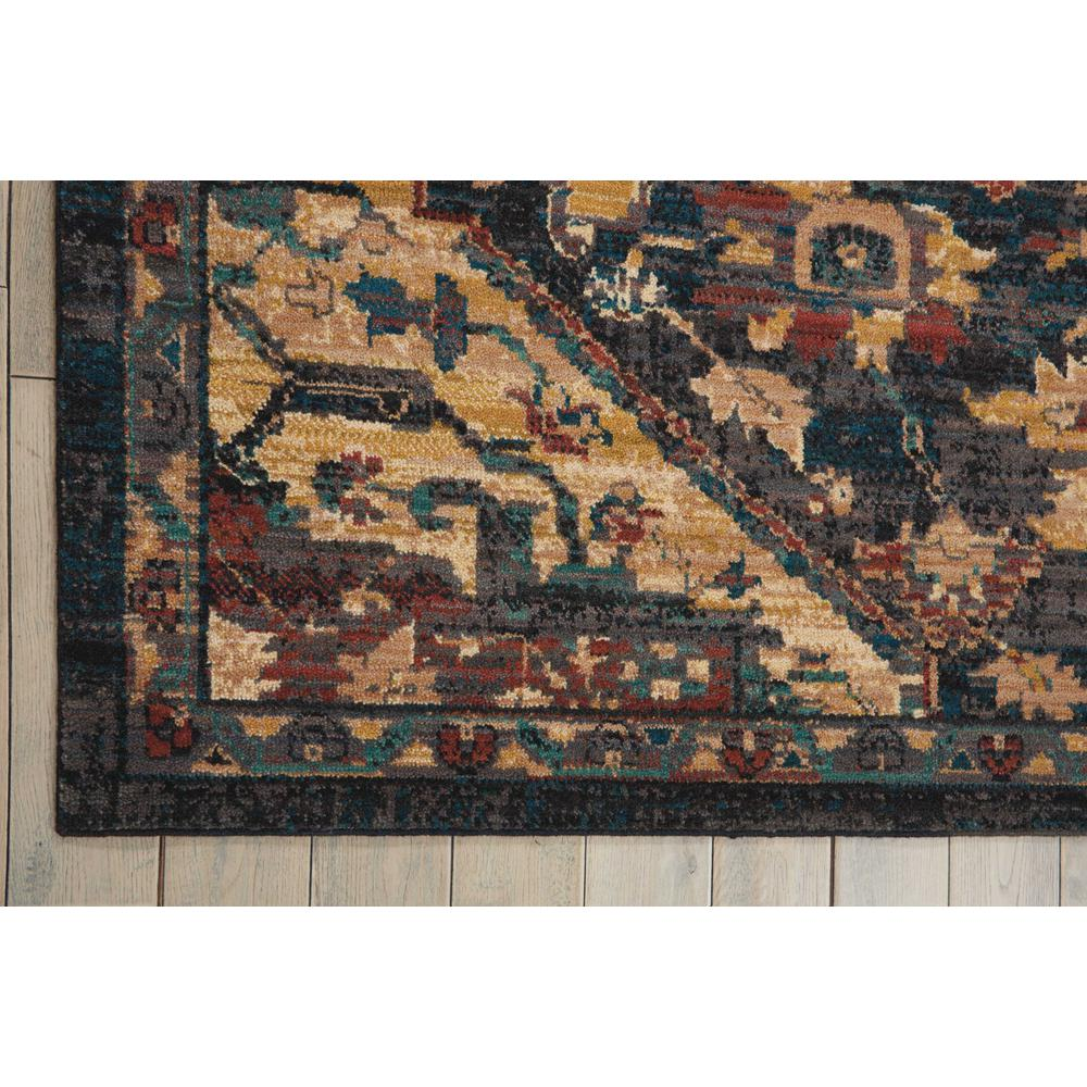 "Nourison 2020 Area Rug, Midnight, 9'2"" x 12'5"". Picture 4"