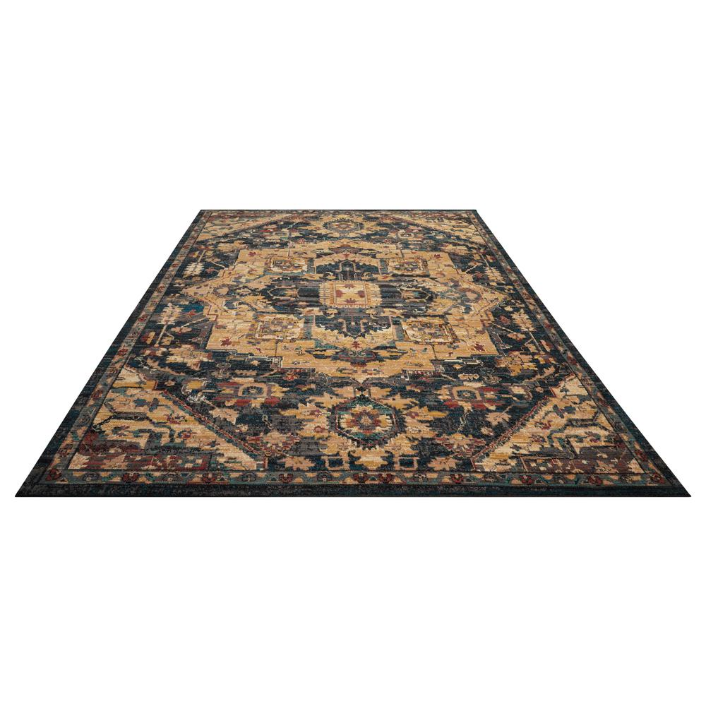 "Nourison 2020 Area Rug, Midnight, 9'2"" x 12'5"". Picture 3"