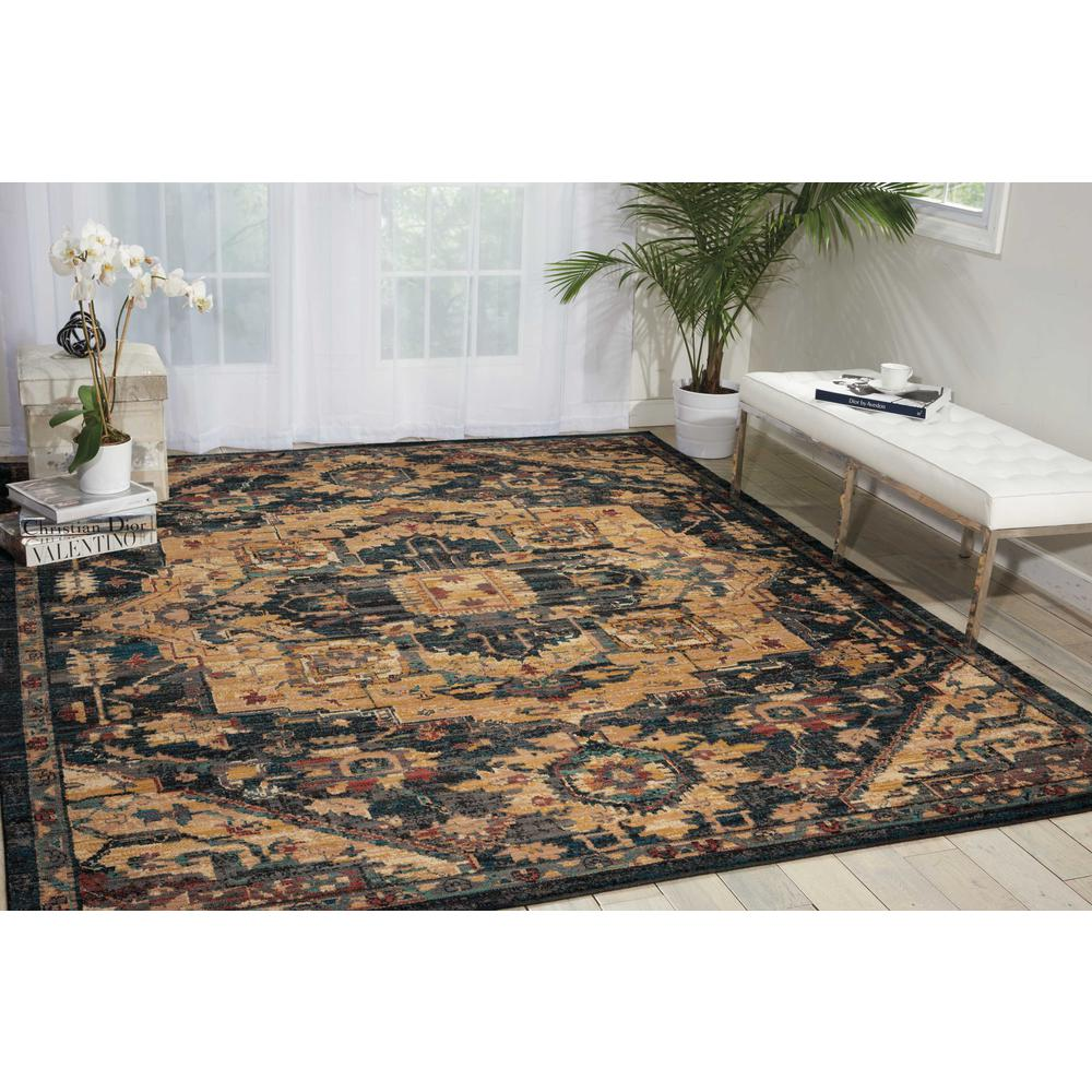 "Nourison 2020 Area Rug, Midnight, 9'2"" x 12'5"". Picture 2"