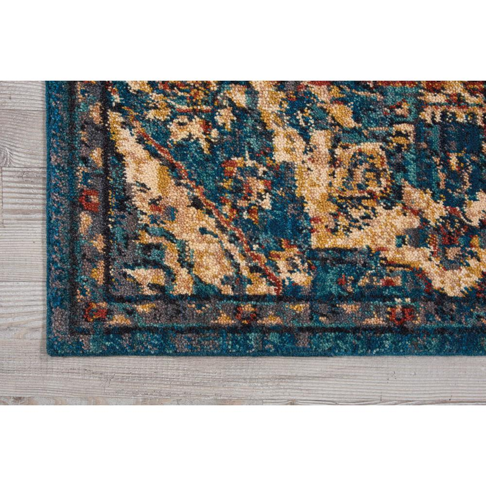 Nourison 2020 Area Rug, Teal, 2' x 3'. Picture 3