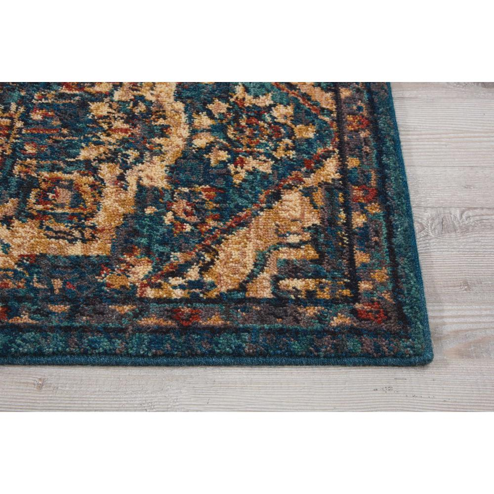 Nourison 2020 Area Rug, Teal, 2' x 3'. Picture 4
