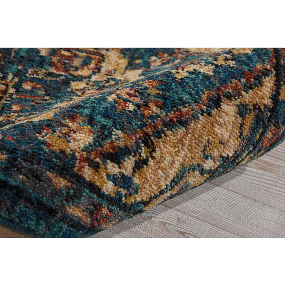 Nourison 2020 Area Rug, Teal, 2' x 3'. Picture 5