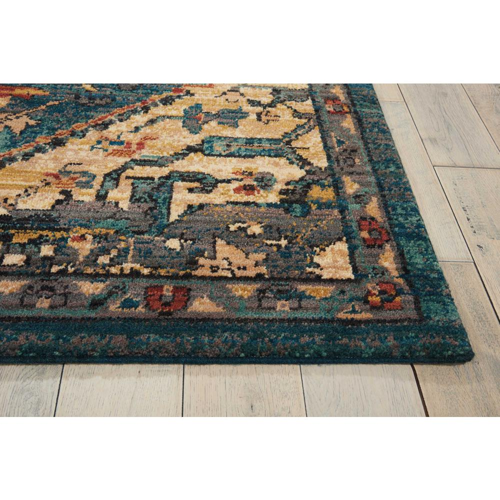 """Nourison 2020 Area Rug, Teal, 9'2"""" x 12'5"""". Picture 5"""