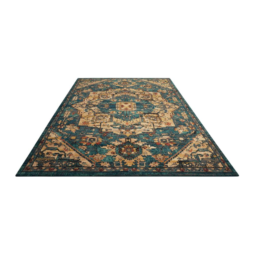 """Nourison 2020 Area Rug, Teal, 9'2"""" x 12'5"""". Picture 3"""