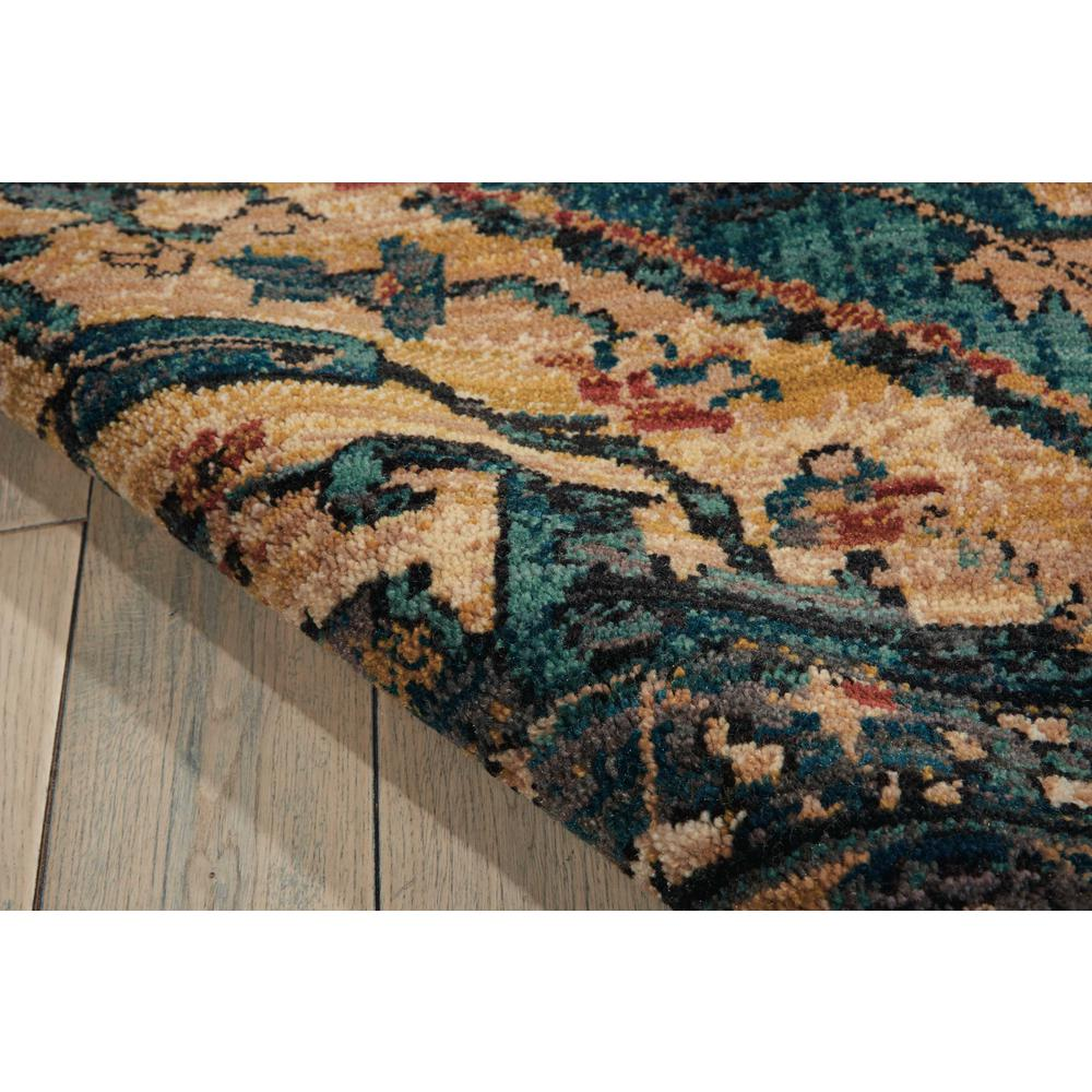 """Nourison 2020 Area Rug, Teal, 9'2"""" x 12'5"""". Picture 6"""