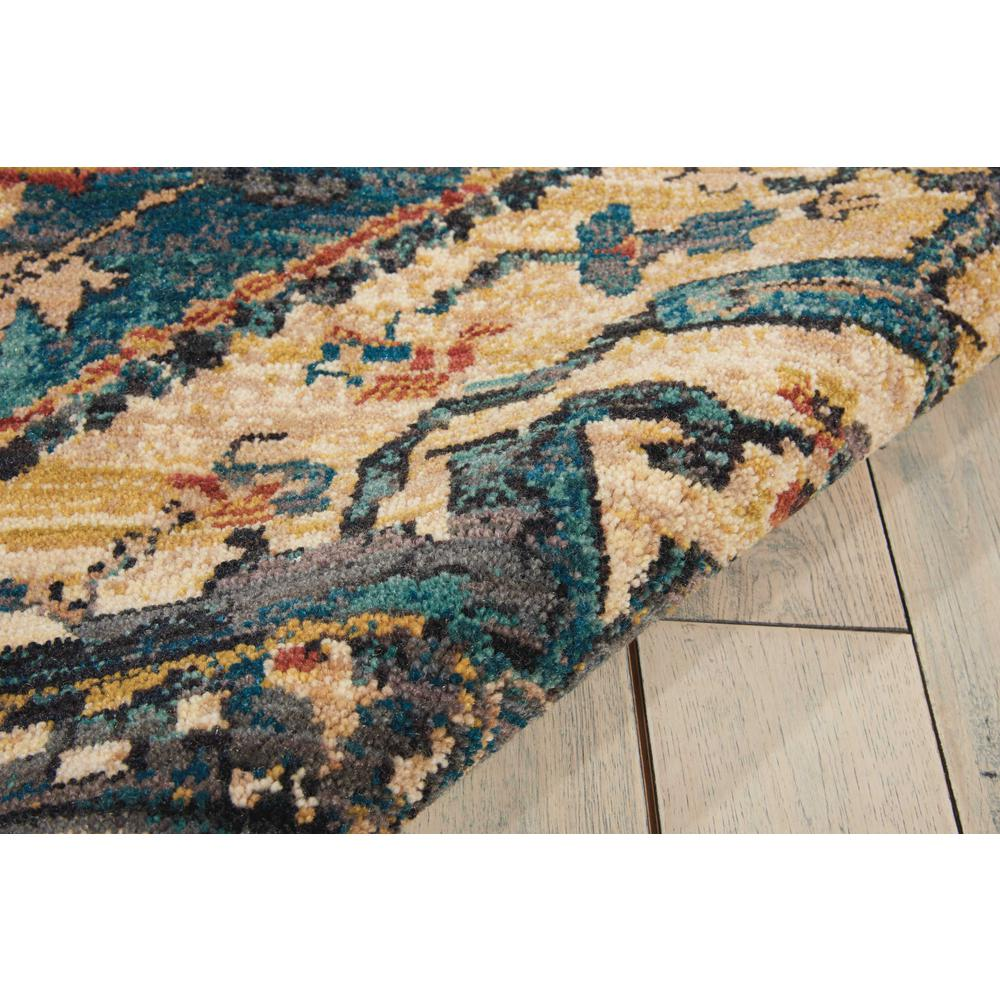 """Nourison 2020 Area Rug, Teal, 9'2"""" x 12'5"""". Picture 7"""