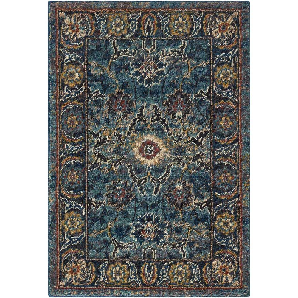 "Nourison 2020 Area Rug, Marine, 2'6"" x 4'2"". The main picture."