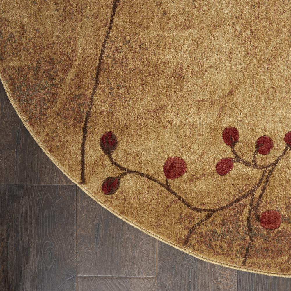 "Somerset Area Rug, Latte, 7'9"" x ROUND. Picture 2"