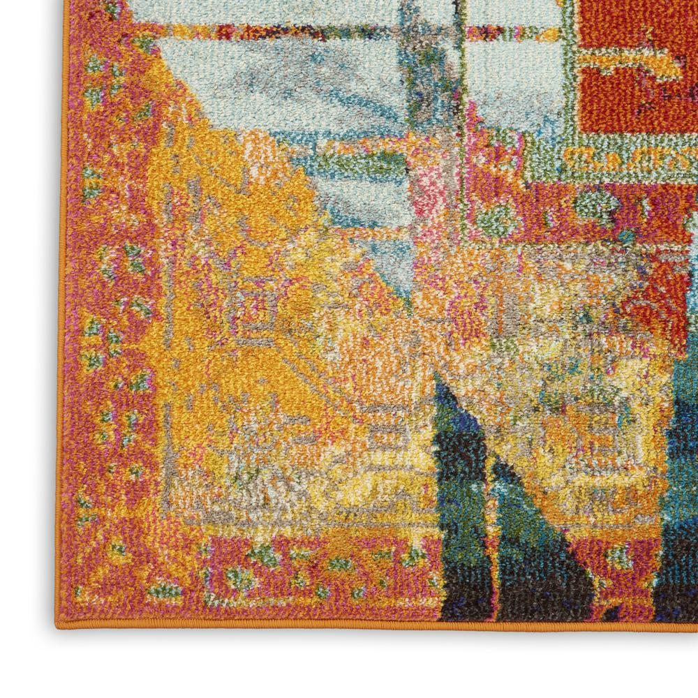 """Celestial Area Rug, Stained Glass, 3'11"""" x 5'11"""". Picture 7"""