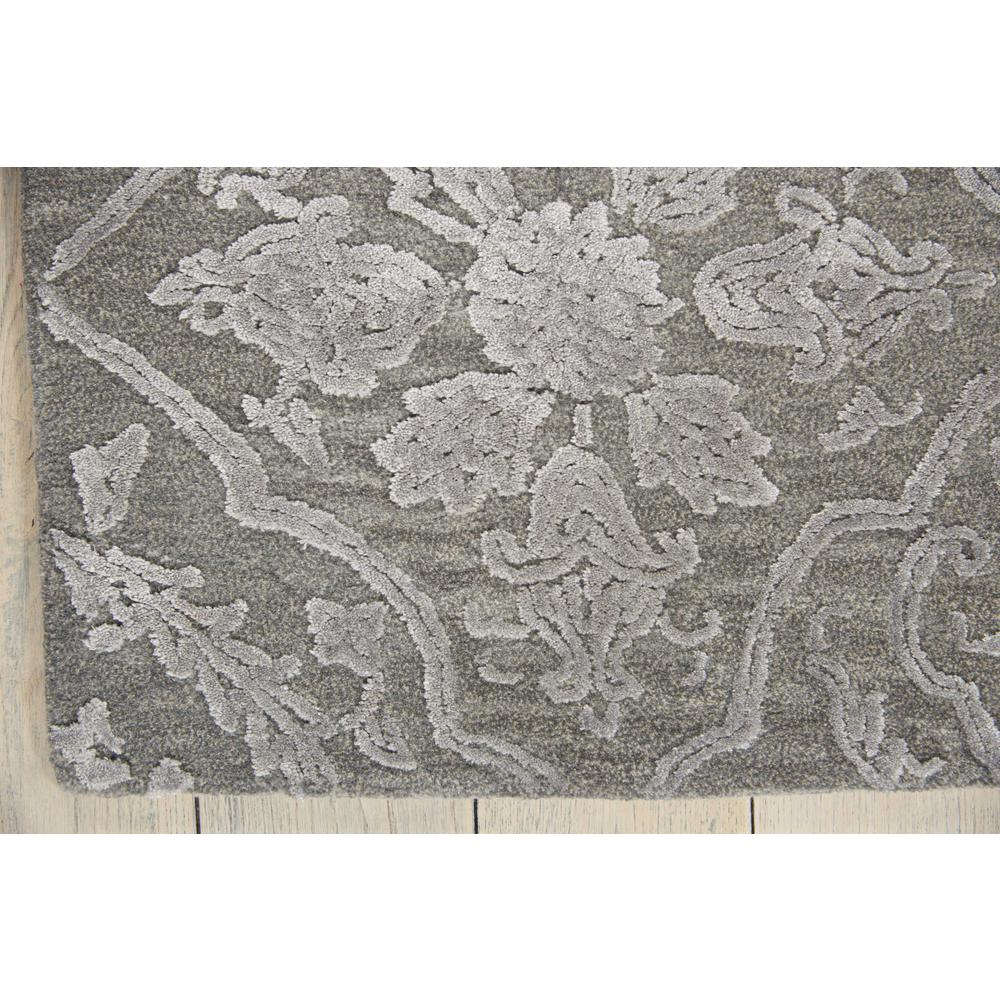 """Opaline Area Rug, Charcoal/Silver, 7'9"""" x 9'9"""". Picture 4"""
