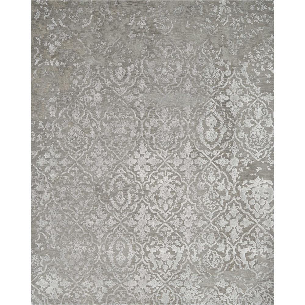 """Opaline Area Rug, Charcoal/Silver, 7'9"""" x 9'9"""". Picture 1"""