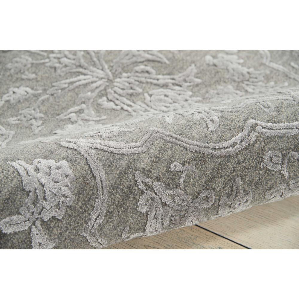 """Opaline Area Rug, Charcoal/Silver, 7'9"""" x 9'9"""". Picture 5"""