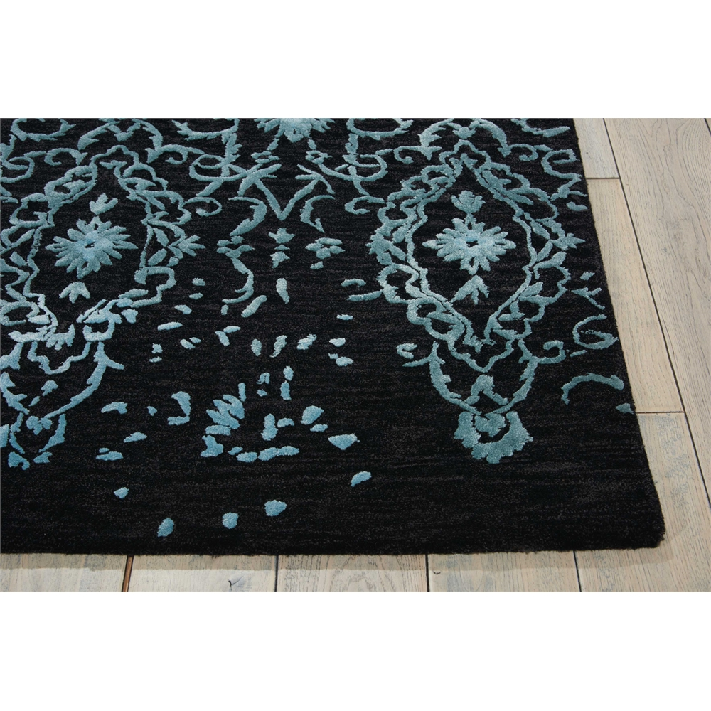 "Opaline Area Rug, Mmidnight Blue, 7'9"" x 9'9"". Picture 3"