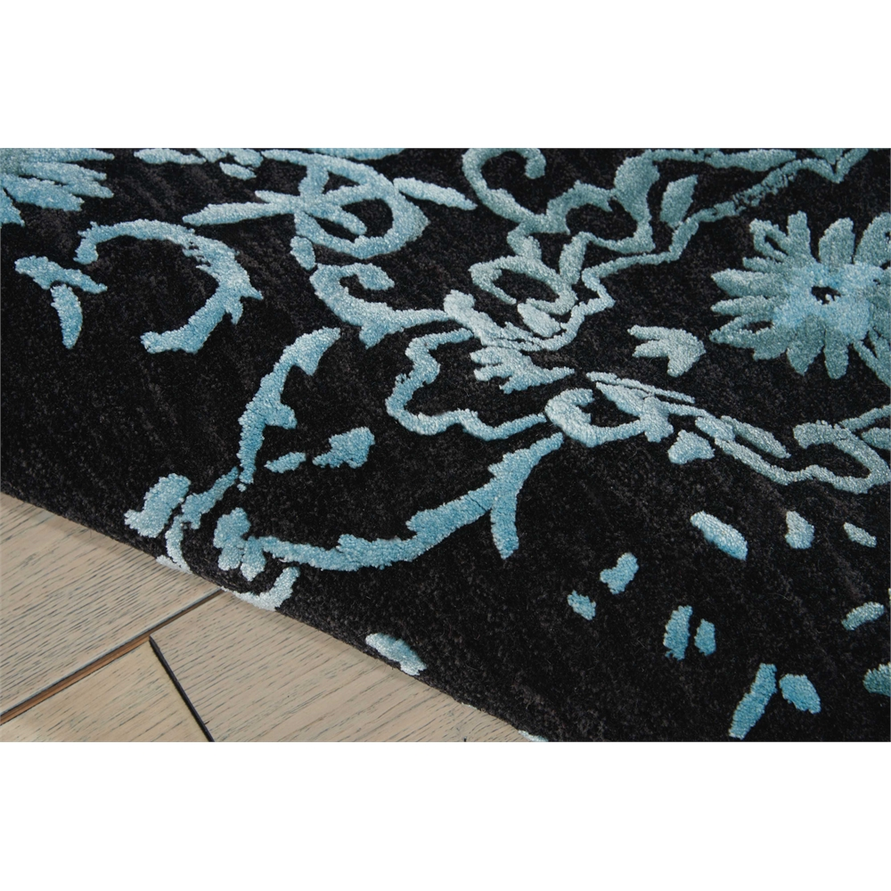"Opaline Area Rug, Mmidnight Blue, 7'9"" x 9'9"". Picture 4"