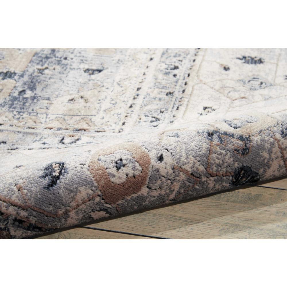 "KI25 Malta Area Rug, Beige/Blue, 7'10"" x 10'10"". Picture 3"