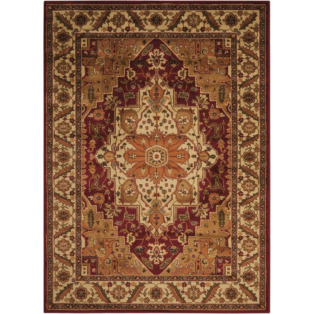 "Paramount Area Rug, Gold, 7'10"" x 10'6"". The main picture."