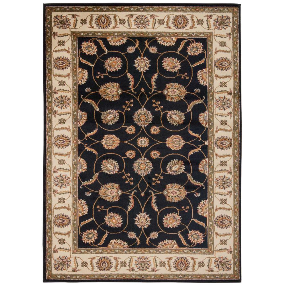 "Paramount Area Rug, Black, 7'10"" x 10'6"". The main picture."