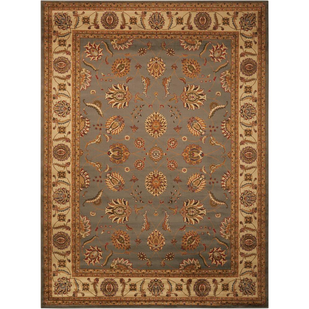 "Paramount Area Rug, Blue, 3'11"" x 5'10"". Picture 1"