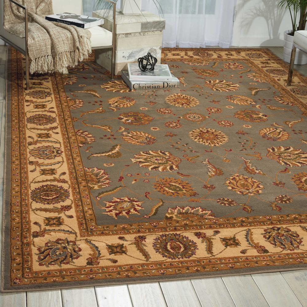 "Paramount Area Rug, Blue, 3'11"" x 5'10"". Picture 2"