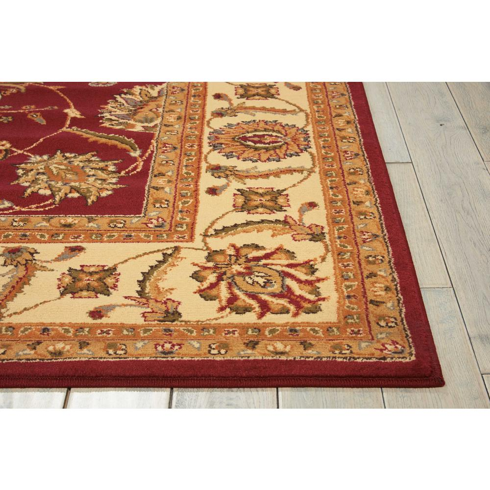"""Paramount Area Rug, Red, 3'11"""" x 5'10"""". Picture 5"""