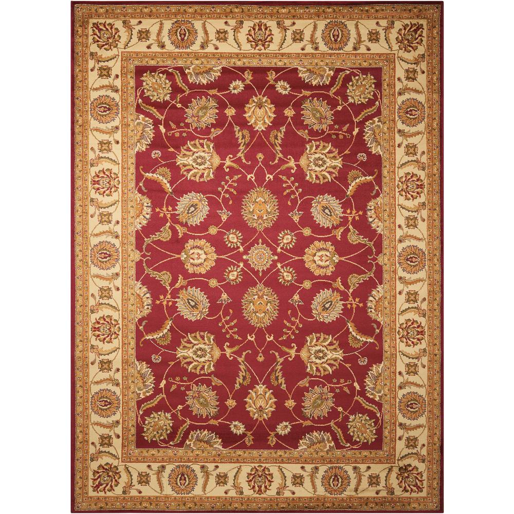 """Paramount Area Rug, Red, 3'11"""" x 5'10"""". Picture 1"""