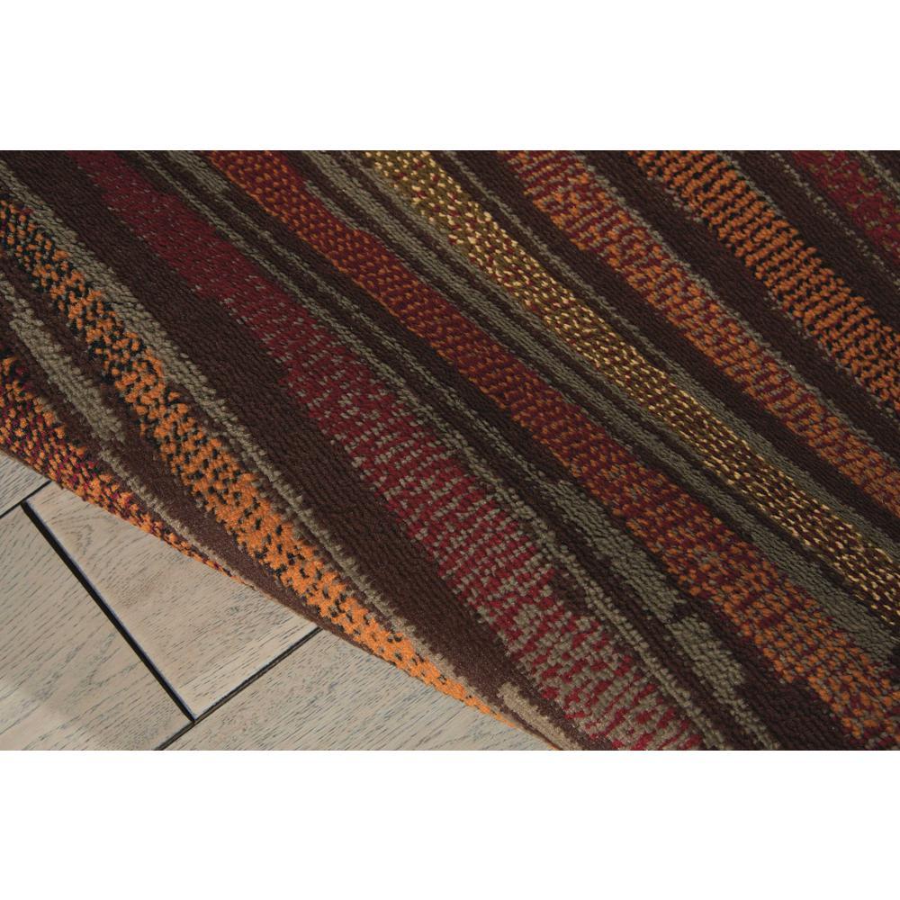 "Paramount Area Rug, Multicolor, 5'3"" x ROUND. Picture 6"