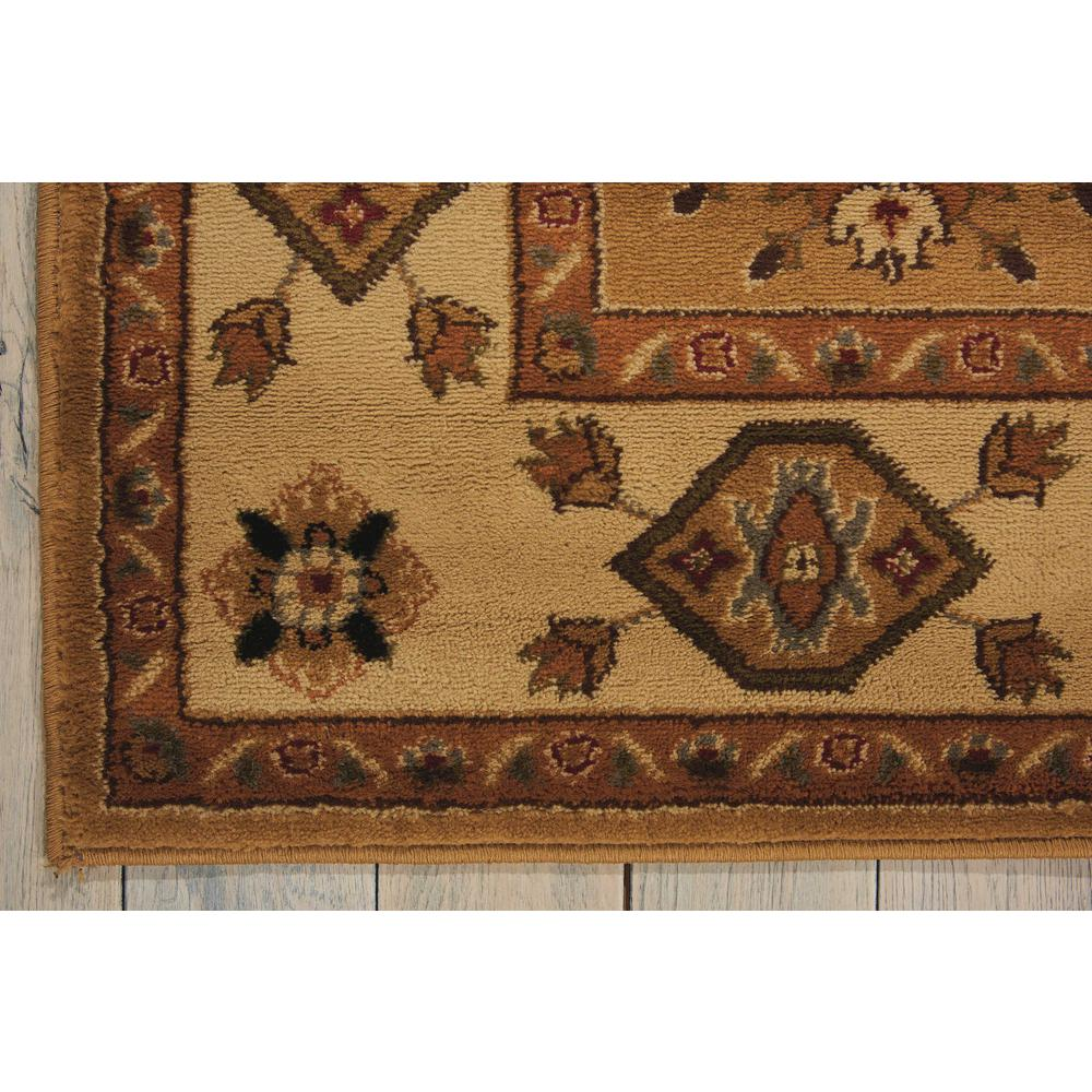 "Paramount Area Rug, Gold, 3'11"" x 5'10"". Picture 4"