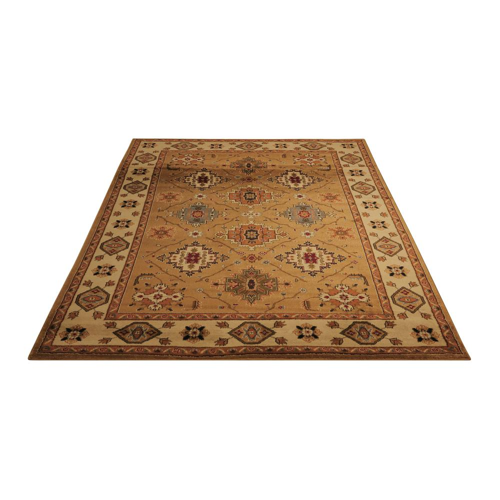 "Paramount Area Rug, Gold, 3'11"" x 5'10"". Picture 3"