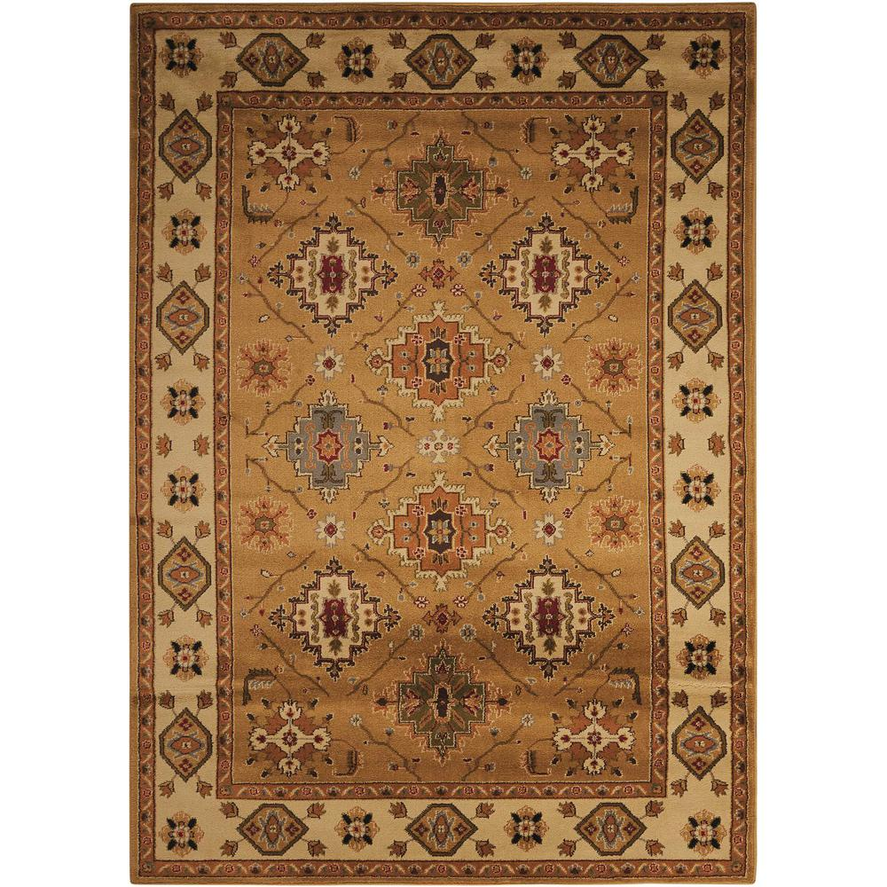 "Paramount Area Rug, Gold, 3'11"" x 5'10"". Picture 1"