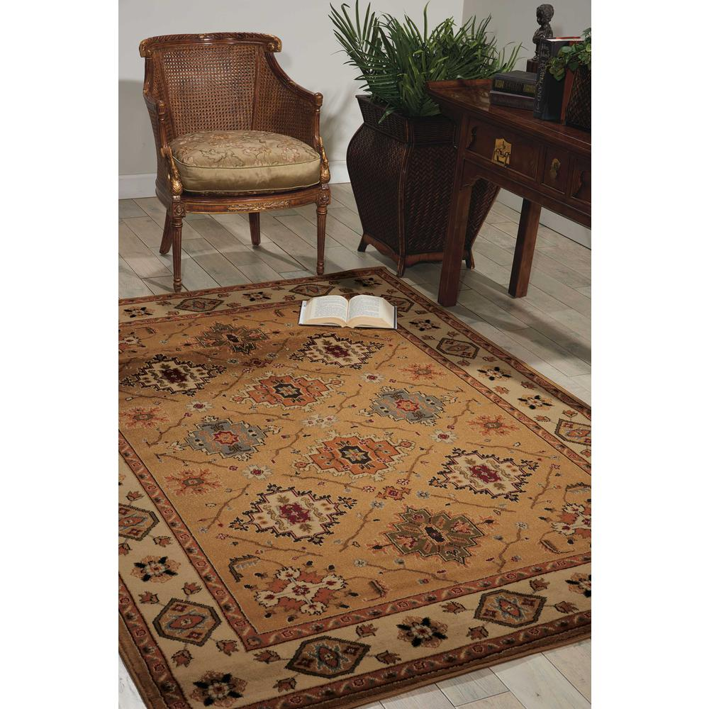 "Paramount Area Rug, Gold, 3'11"" x 5'10"". Picture 2"