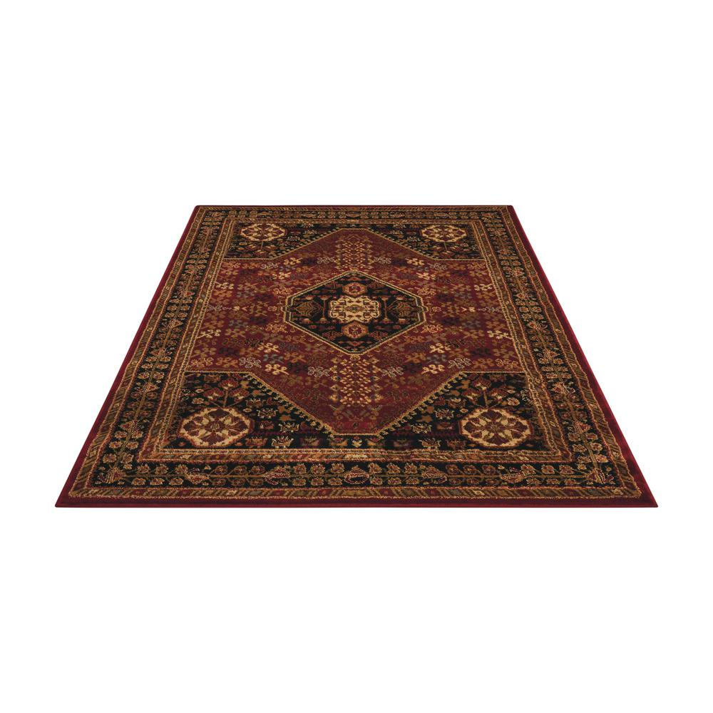 """Paramount Area Rug, Red, 3'11"""" x 5'10"""". Picture 3"""