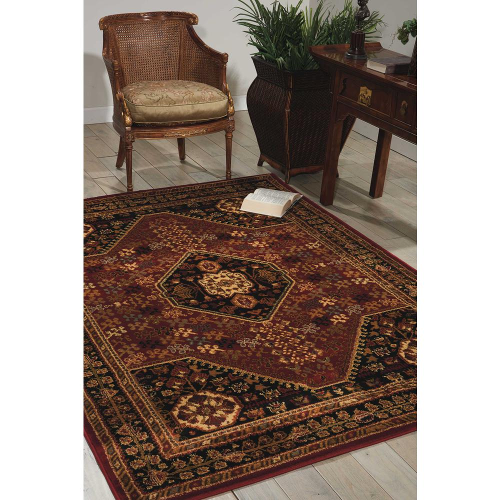 """Paramount Area Rug, Red, 3'11"""" x 5'10"""". Picture 2"""
