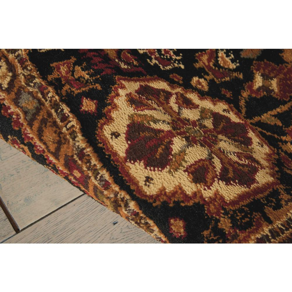 """Paramount Area Rug, Red, 5'3"""" x ROUND. Picture 4"""