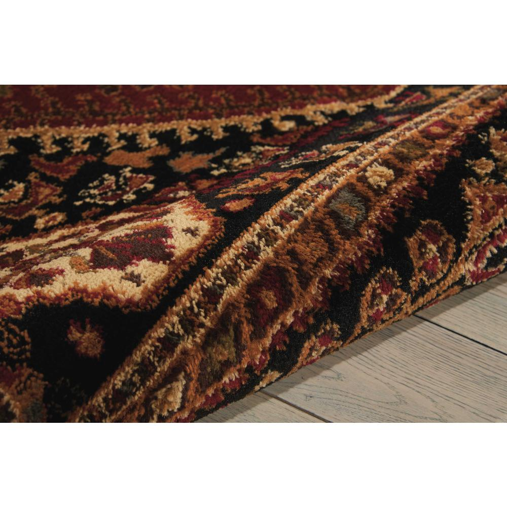 """Paramount Area Rug, Red, 5'3"""" x ROUND. Picture 5"""