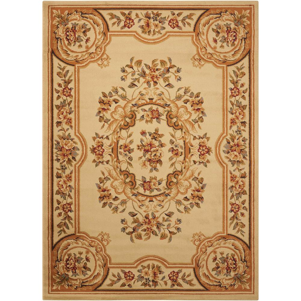 "Paramount Area Rug, Beige, 5'3"" x 7'3"". Picture 1"