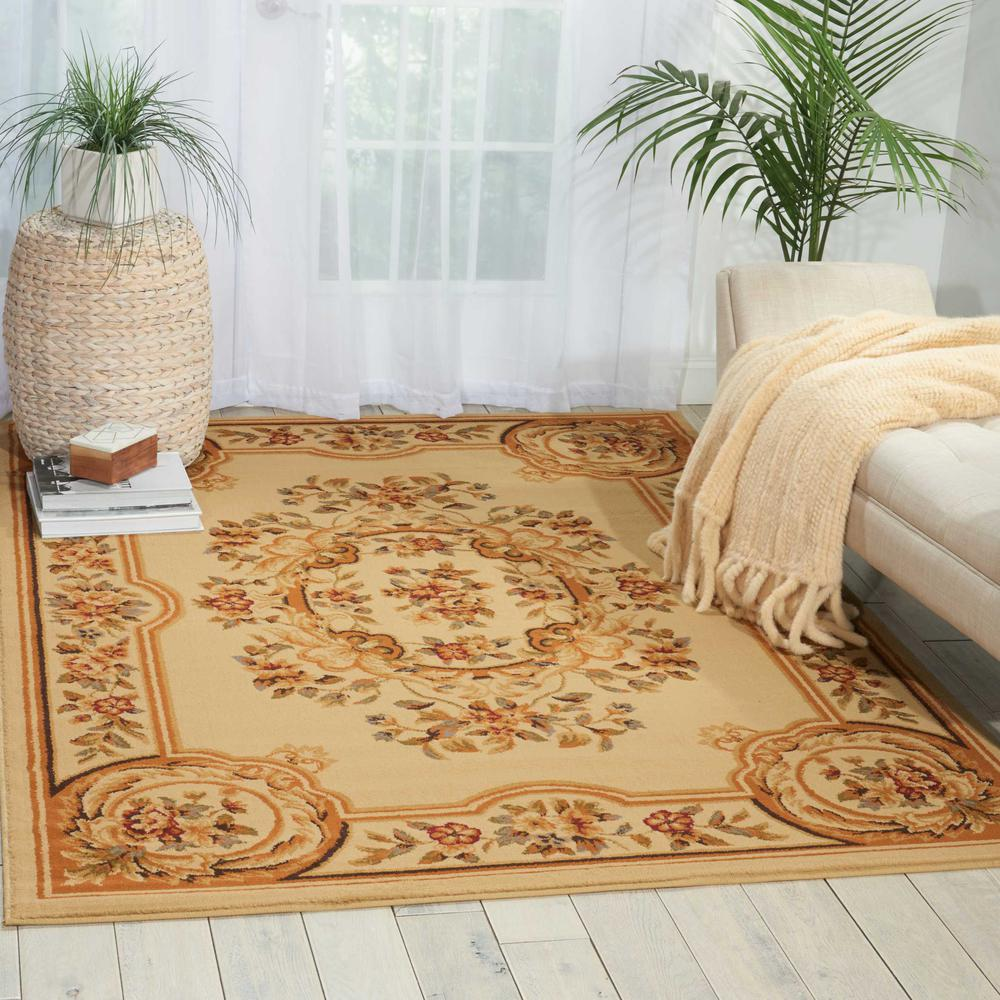 "Paramount Area Rug, Beige, 5'3"" x 7'3"". Picture 2"
