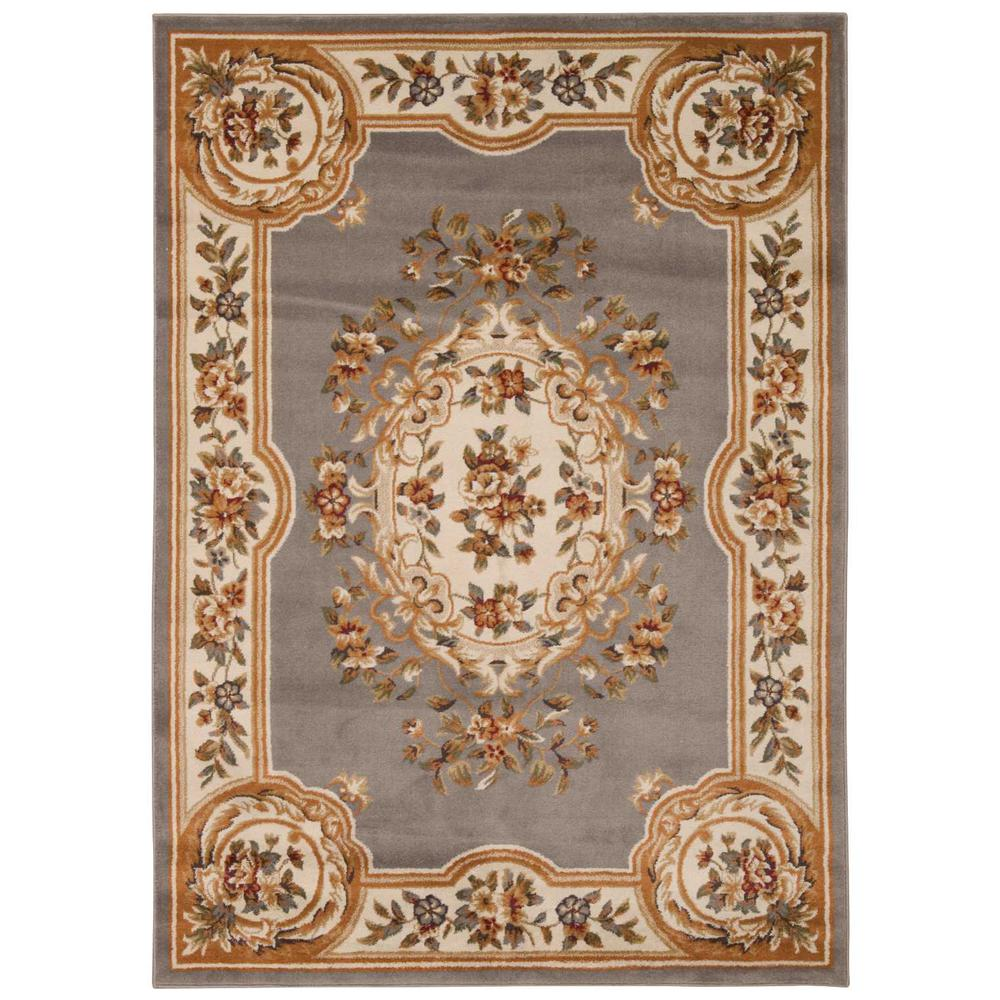 """Paramount Area Rug, Grey/Blue, 7'10"""" x 10'6"""". Picture 1"""