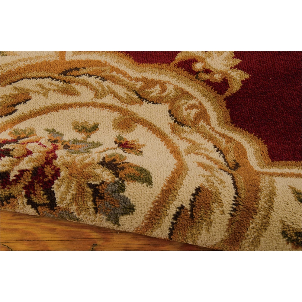 "Paramount Area Rug, Red, 5'3"" x 7'3"". Picture 4"