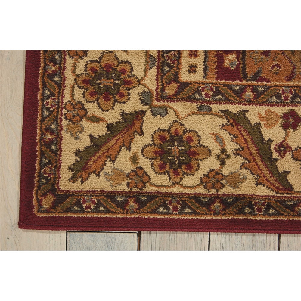 """Paramount Area Rug, Gold, 5'3"""" x 7'3"""". Picture 2"""