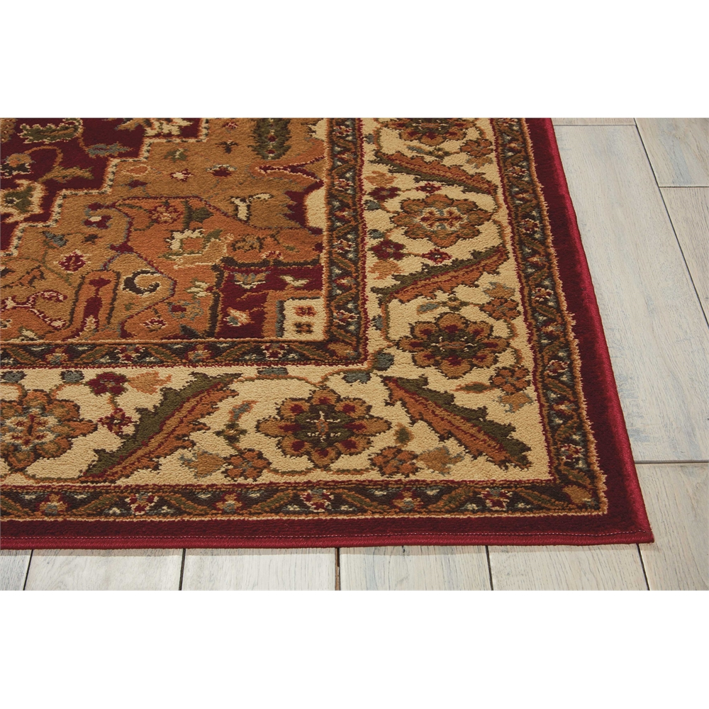 """Paramount Area Rug, Gold, 5'3"""" x 7'3"""". Picture 3"""