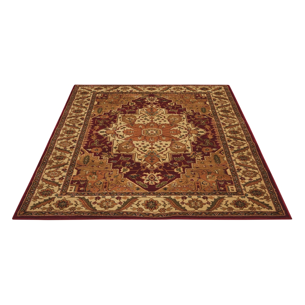 """Paramount Area Rug, Gold, 5'3"""" x 7'3"""". Picture 5"""