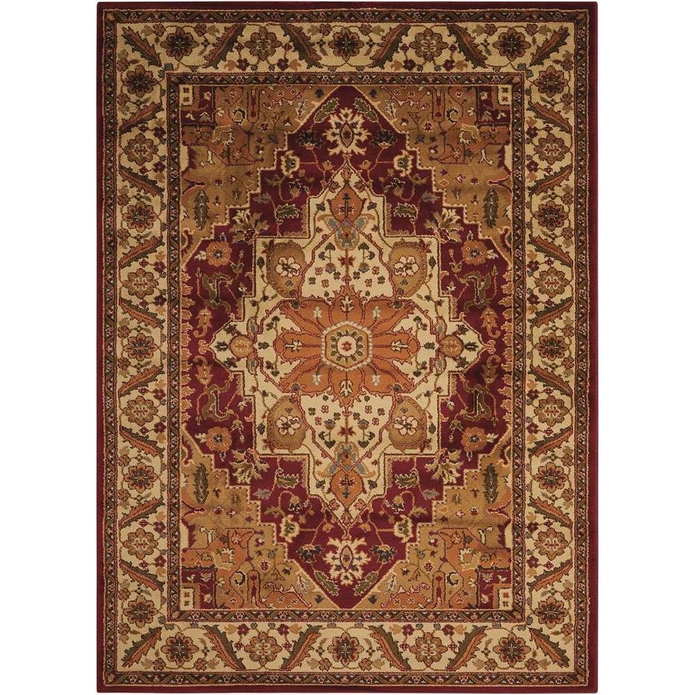 """Paramount Area Rug, Gold, 5'3"""" x 7'3"""". Picture 1"""