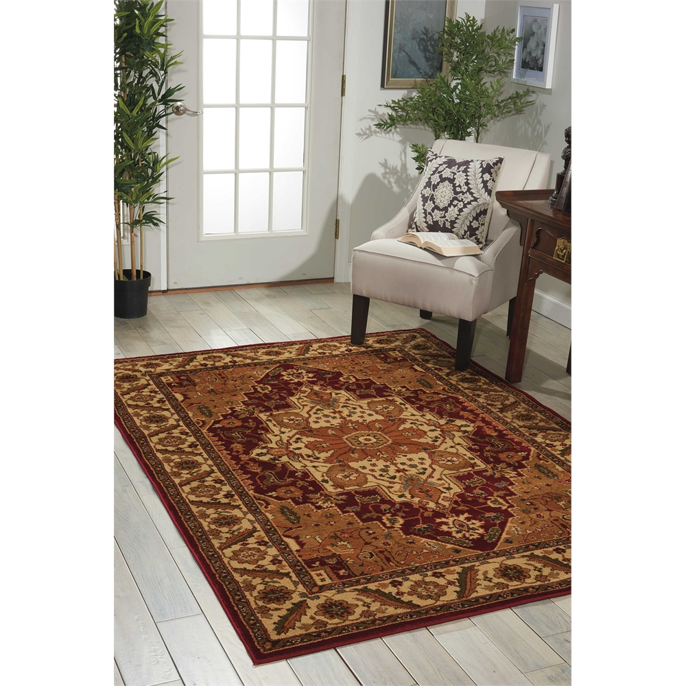 """Paramount Area Rug, Gold, 5'3"""" x 7'3"""". Picture 6"""