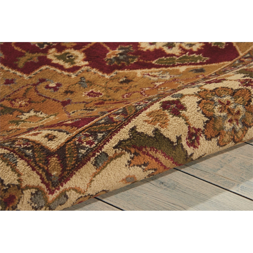 """Paramount Area Rug, Gold, 5'3"""" x 7'3"""". Picture 7"""