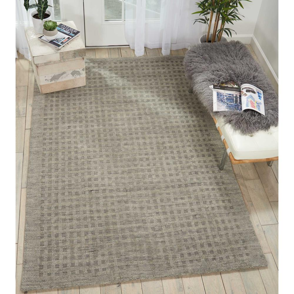 """Perris Area Rug, Charcoal, 6'6"""" x 9'6"""". Picture 2"""